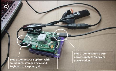 Step 5:  Set Up Sleepy Pi Real Time Clock and Raspberry Pi A+