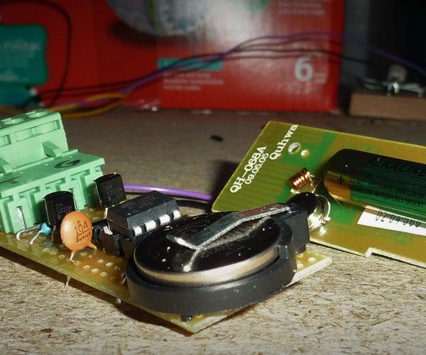 Cheap Wireless Mousetrap Alarm Using an ATtiny85