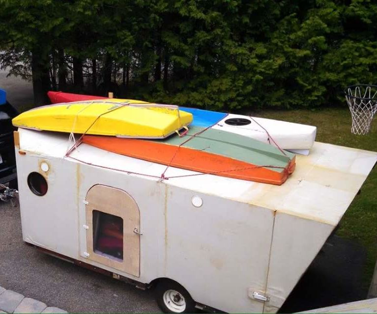 How to build a foam teardrop trailer. rot proof, well insulated and super lightweight