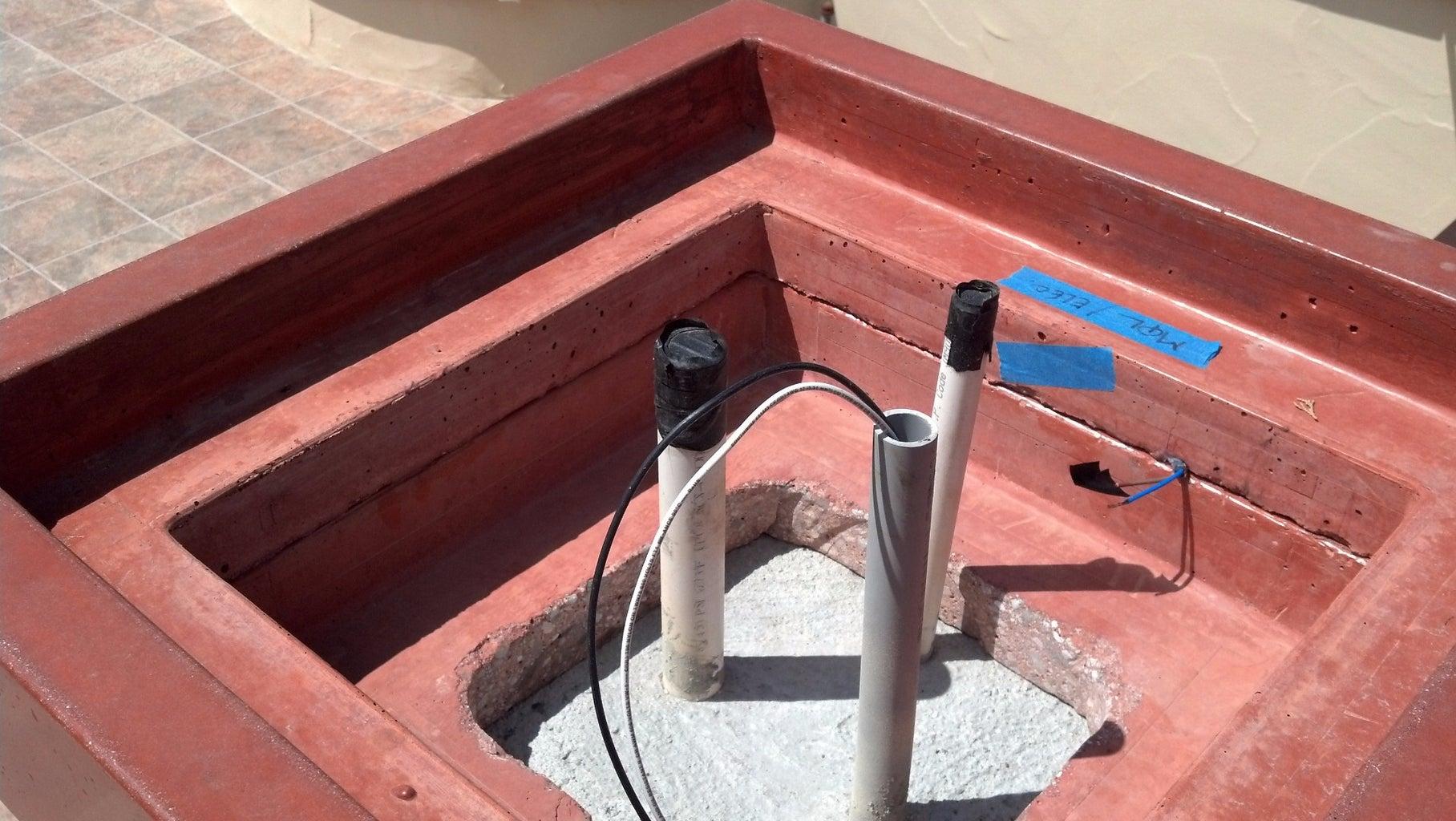 Column Cap / Planter Modification