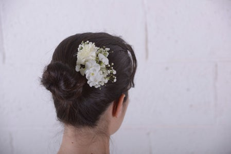 DIY With Flowers: Floral Hair Slide