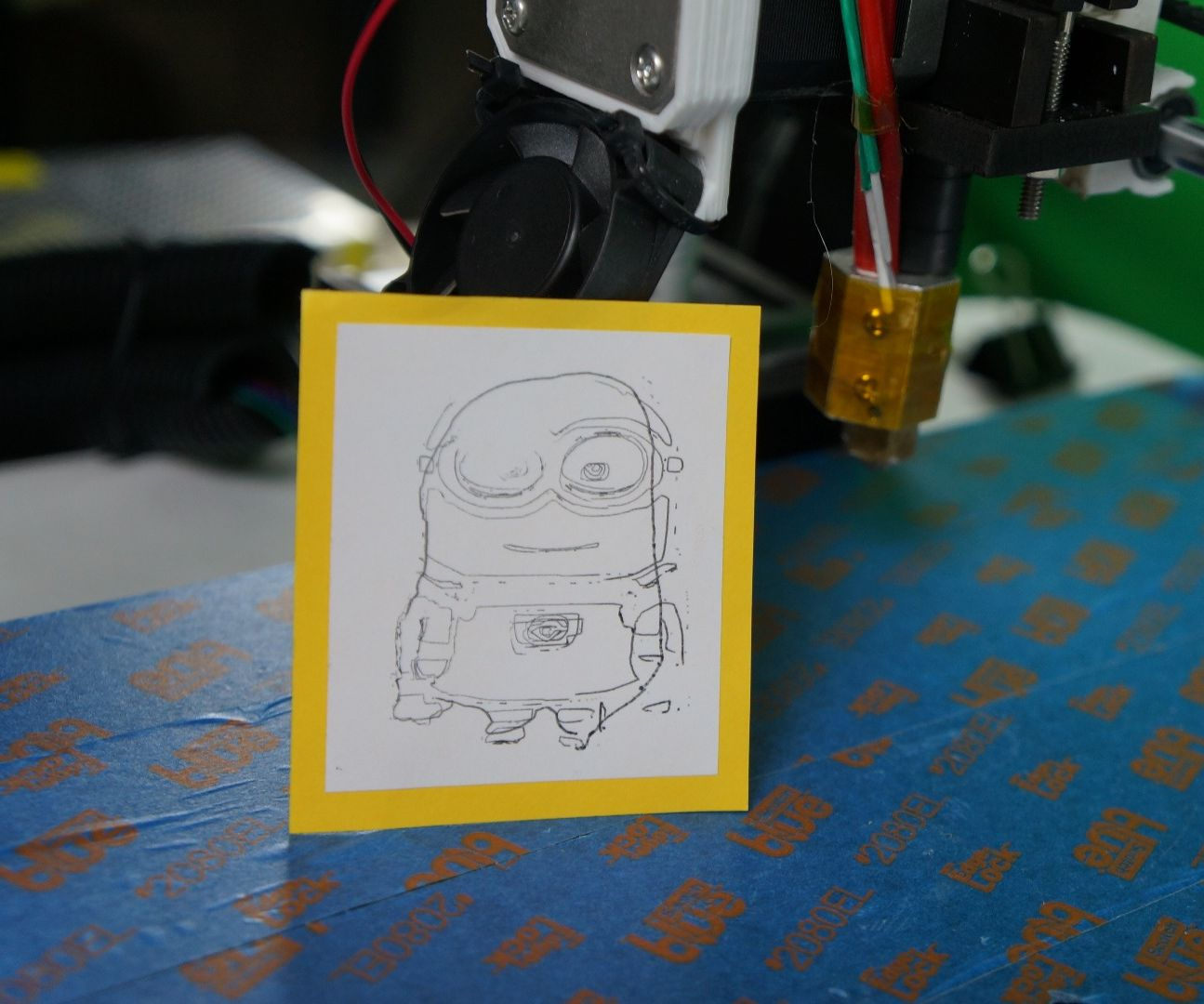 Make Your 3D Printer Draw Things
