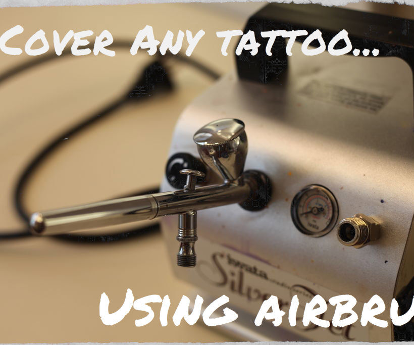 Cover Any Tattoo... with Airbrush!