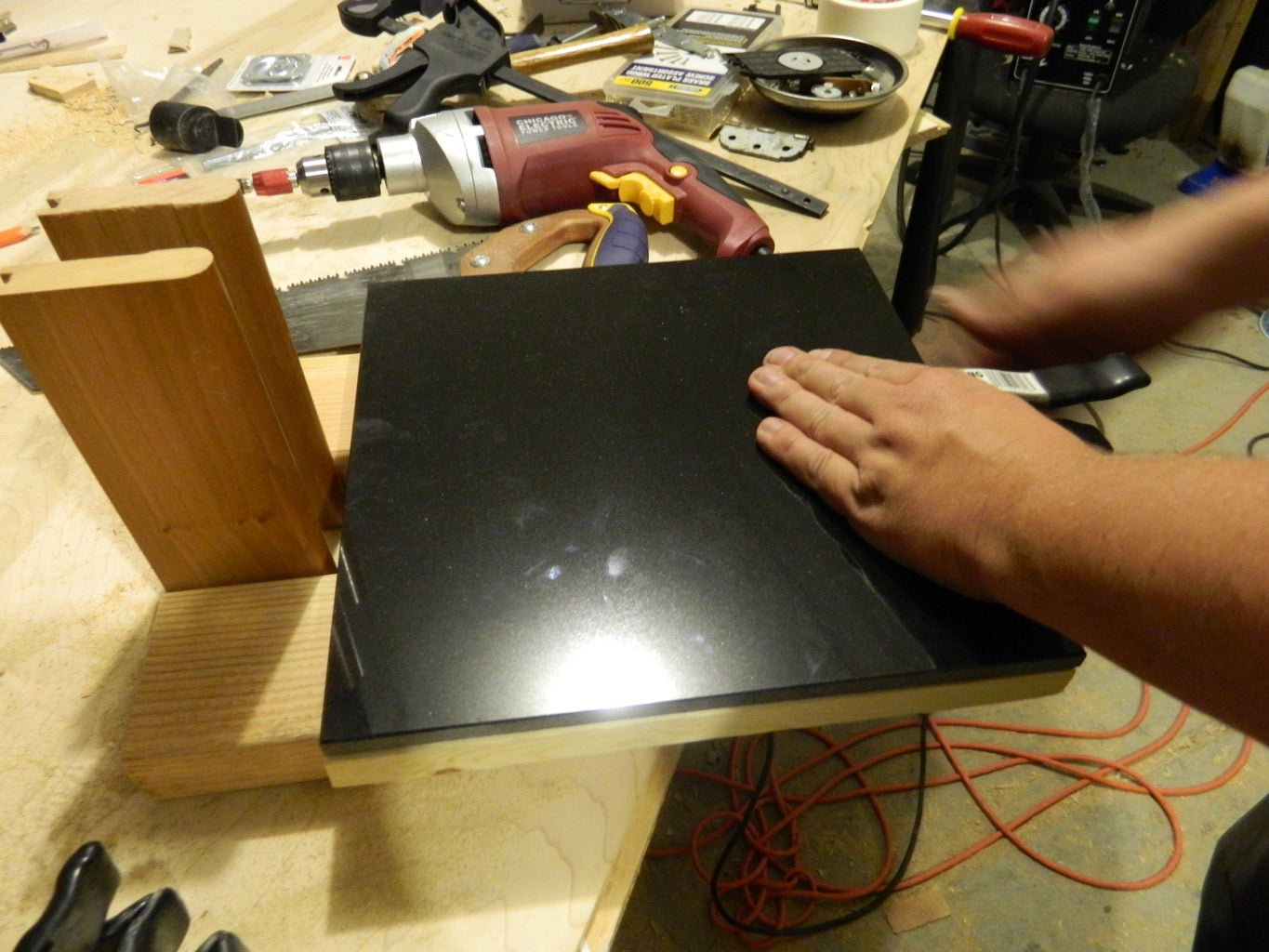 Build the Two Halves of the Pressing Surface
