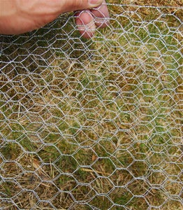 Fold Chicken Wire Into Mats