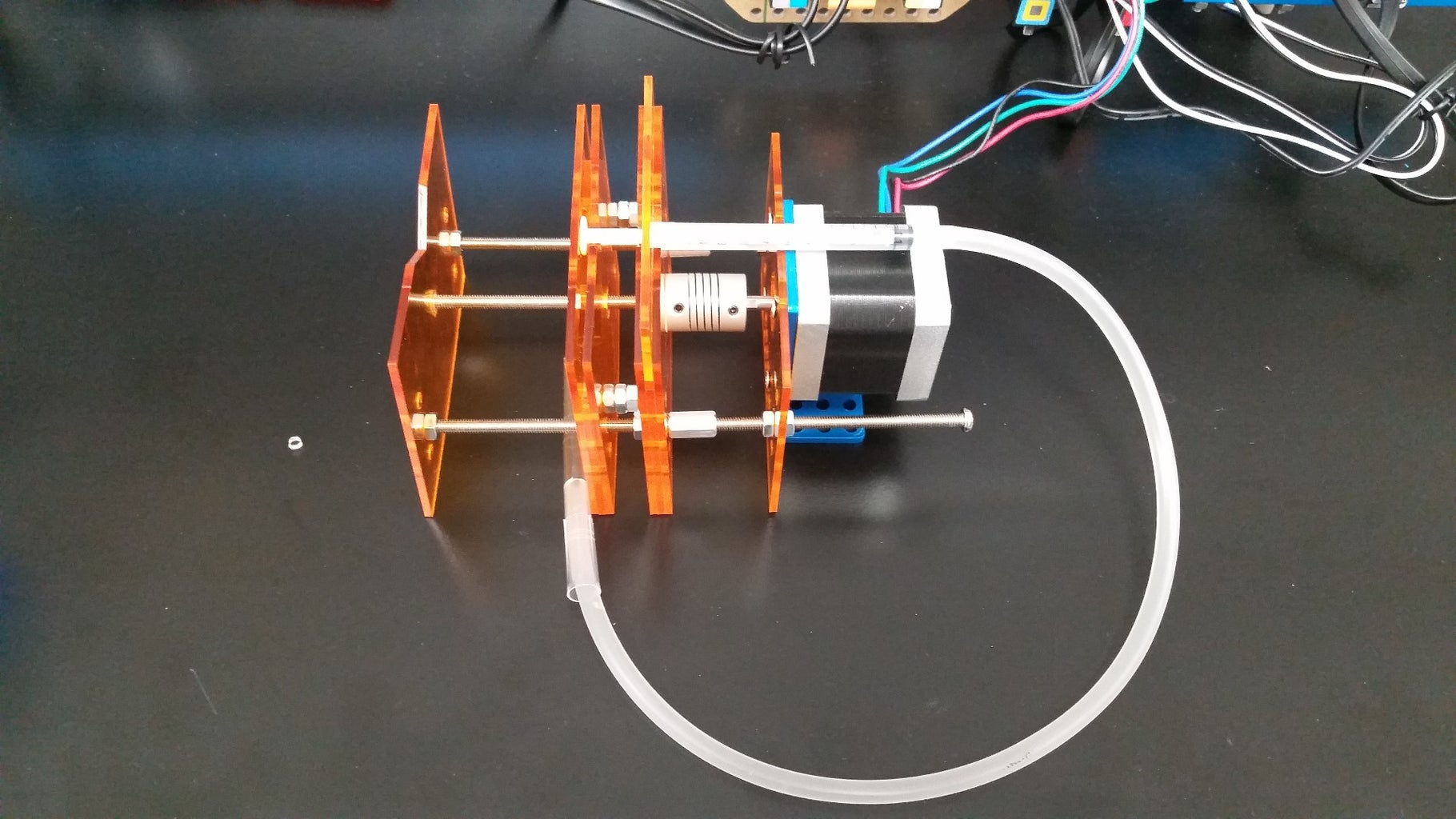 DIY Syringe Pump Using Stepper Motor