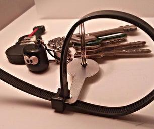 Zip Tie Easy Unlock Key (Ideal for Kid Locks)
