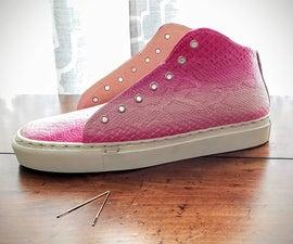 如何制作皮革运动鞋