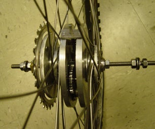 Two-speed Bike Without a Gear Shifter