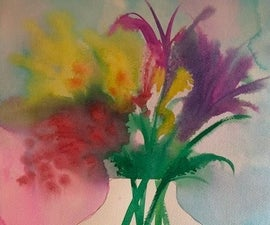 Mother's Day Watercolor Painting