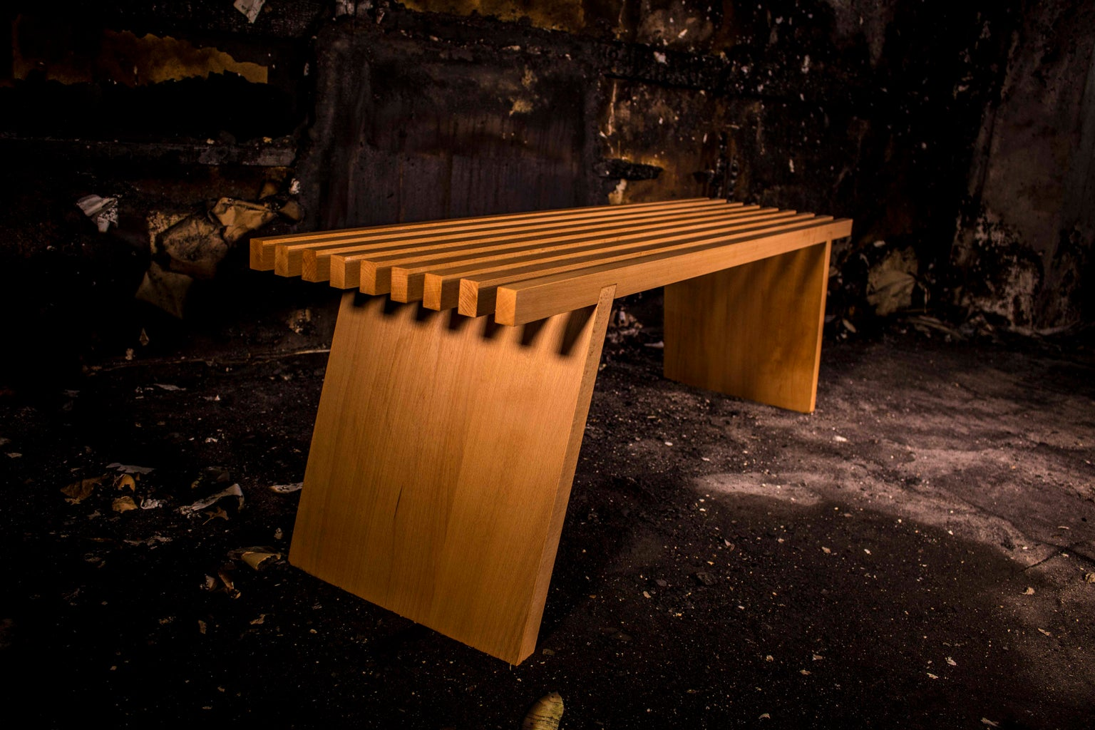 // 3D PUZZLE FURNITURE // Japanese Bench