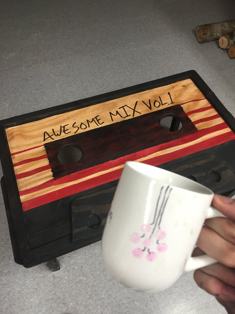 $50 Cassette Tape Coffee Table (Guardians of the Galaxy)