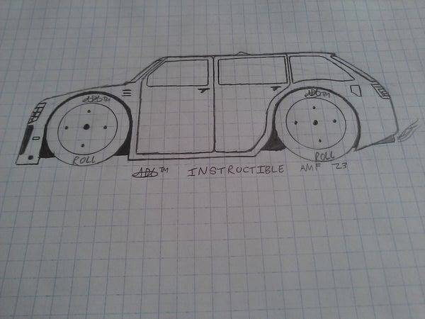 How to Draw a Car Design