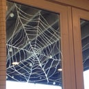 Easy Glue Spider Web