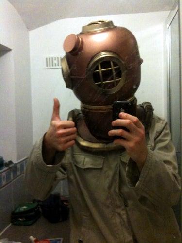 Deep Sea Diver / Alien Victim Costume