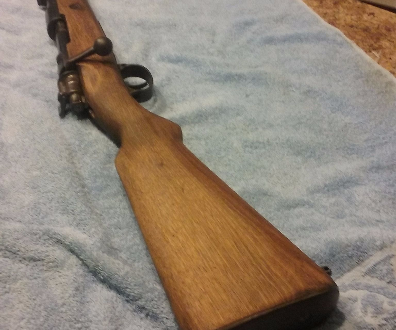 Cleaning and maintaining a bolt action rifle