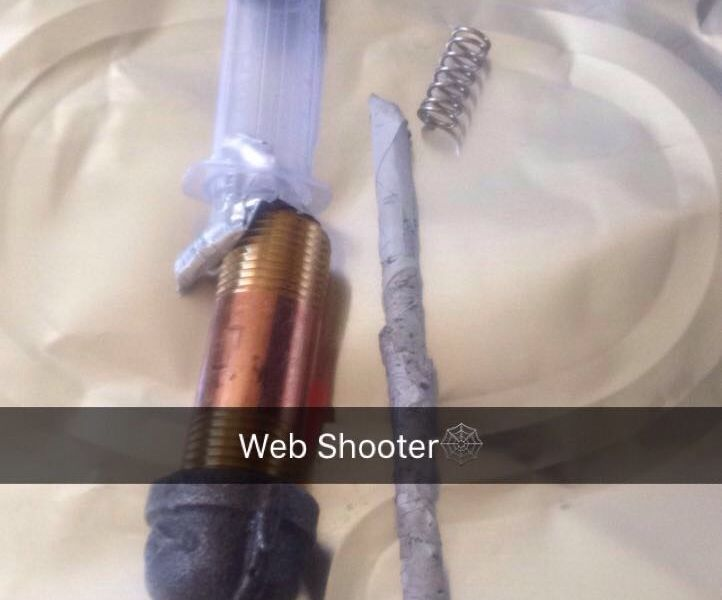I Made the Web Shooter
