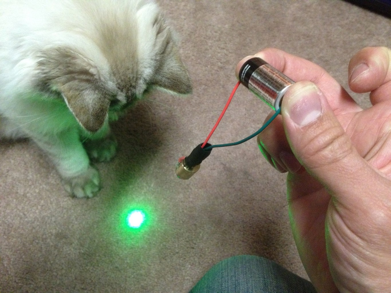 Hack a Laser Pointer (optional If You Don't Just Buy a Laser Module From Amazon)