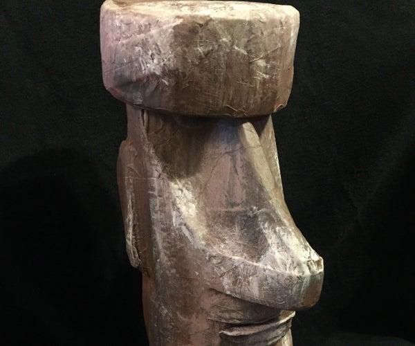 Moai Easter Island Statue Puppet