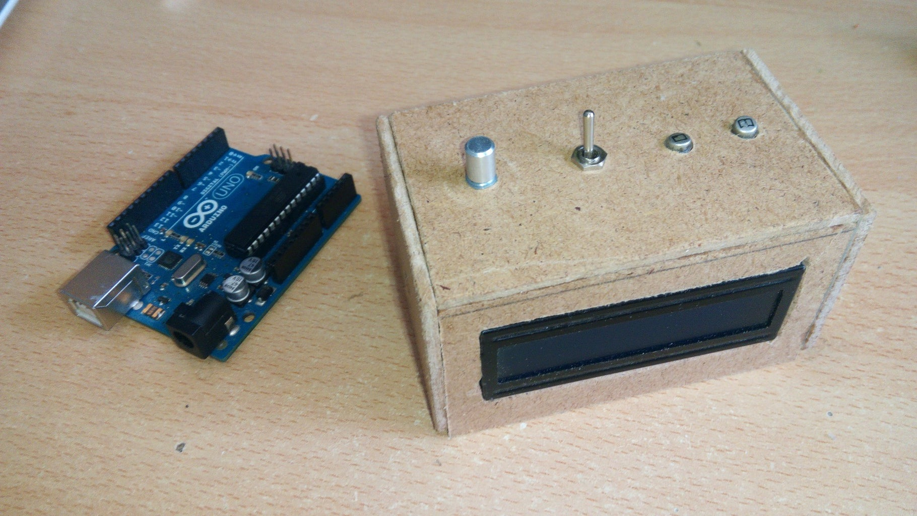 Arduino Digital Thermometer (with DS18B20)