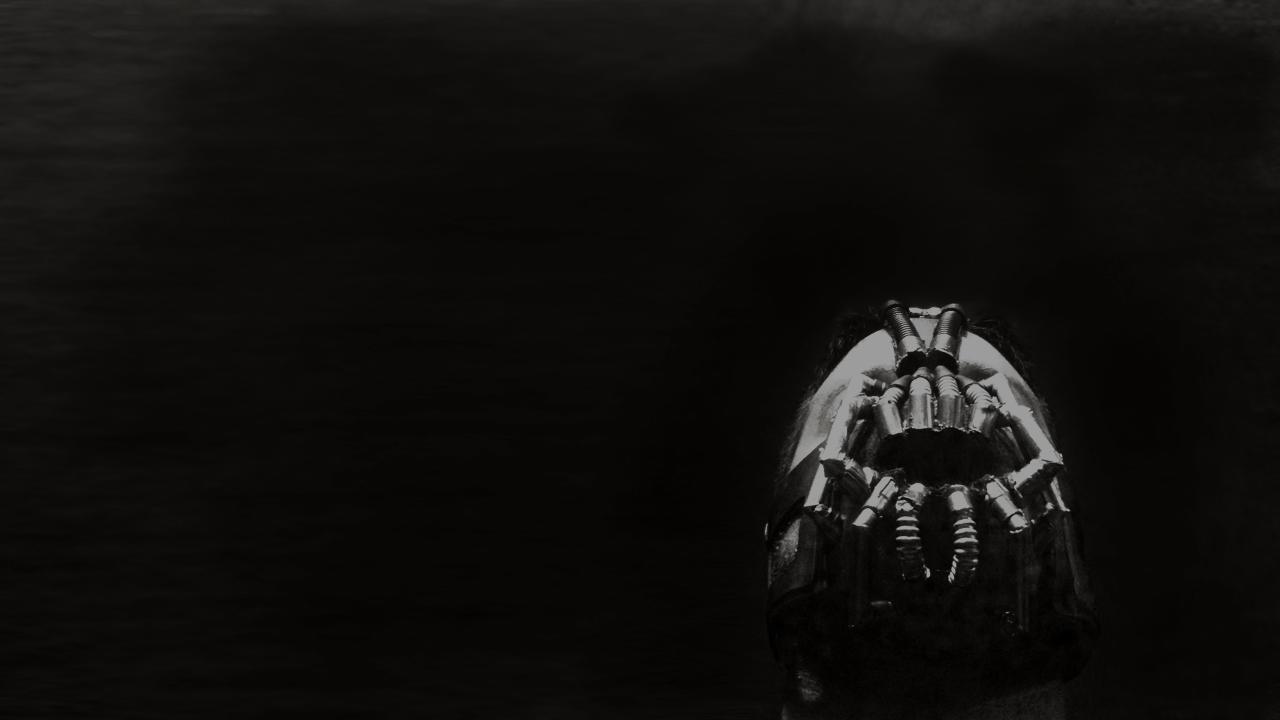 "Bane Mask ""The Dark Knight Rises"""
