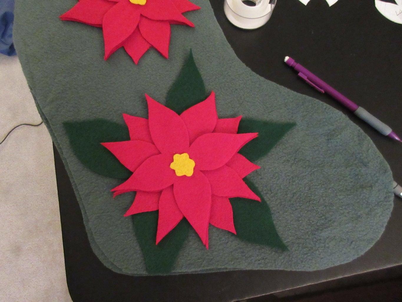 Cut Out the Poinsettia