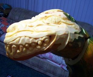 Attack of Gourdzilla: Dino-Pumpkin