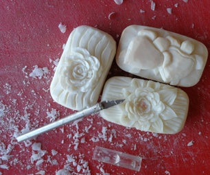 Carving a Rose in Soap (turtles and More)