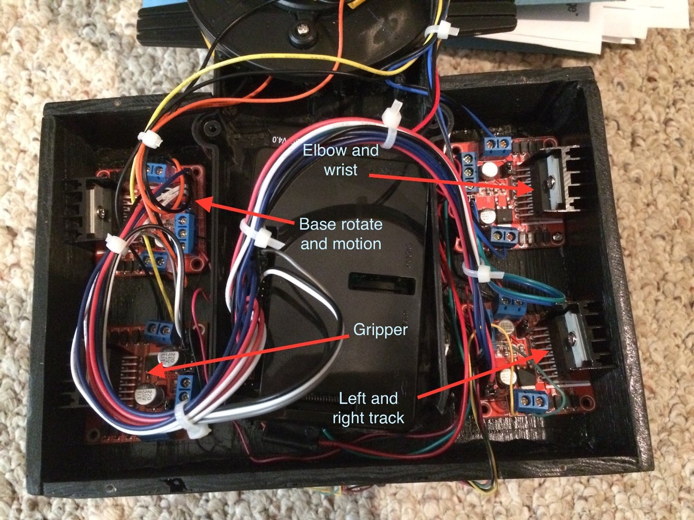 Wire Up the Rest of the Motor Drivers