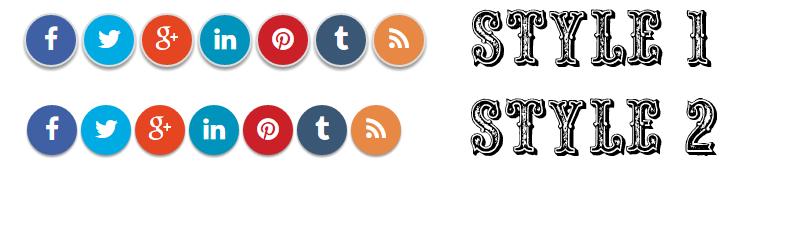 Adding Social Media Buttons