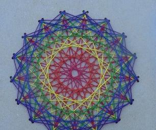 Spirographic Cross Stitch