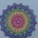 Spirographic Cross Stitch