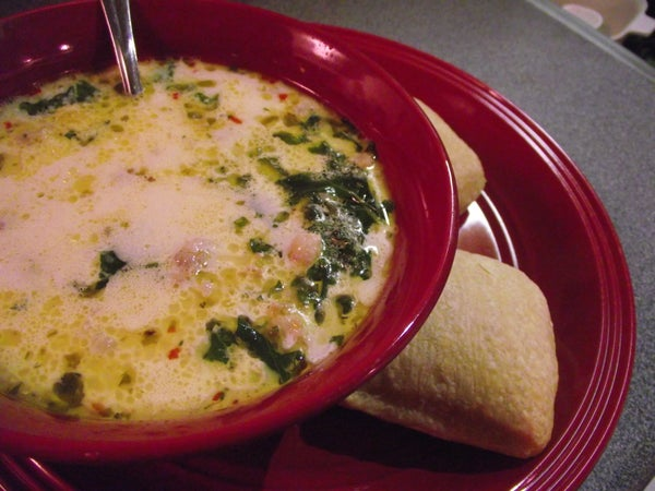 Tuscan Soup in Time for Winter