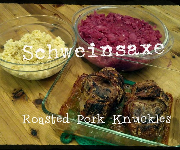 Schweinshaxe, Roasted Pork Knuckles