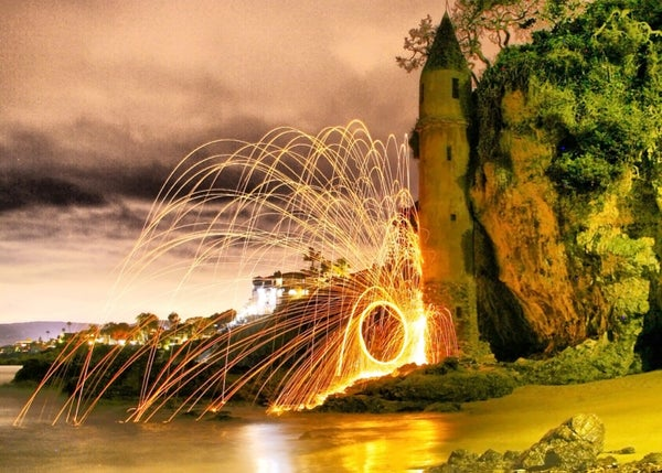 HOW TO:  STEEL WOOL PHOTOGRAPHY