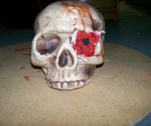 How to Make a Bloody Skeleton
