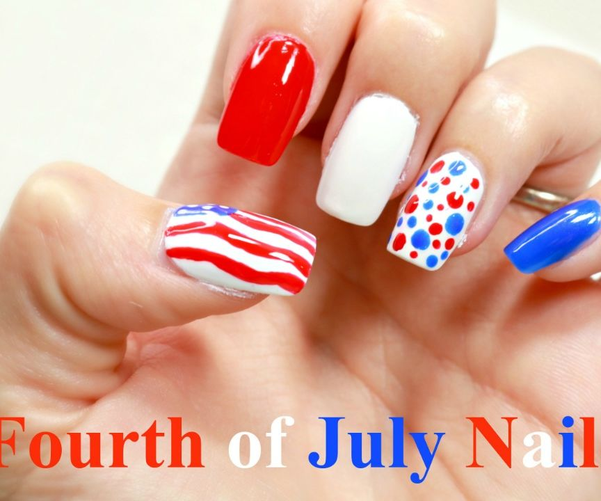 Fourth of July Nails! ☆