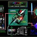 PC FAN 2 Channel COLOR ORGAN