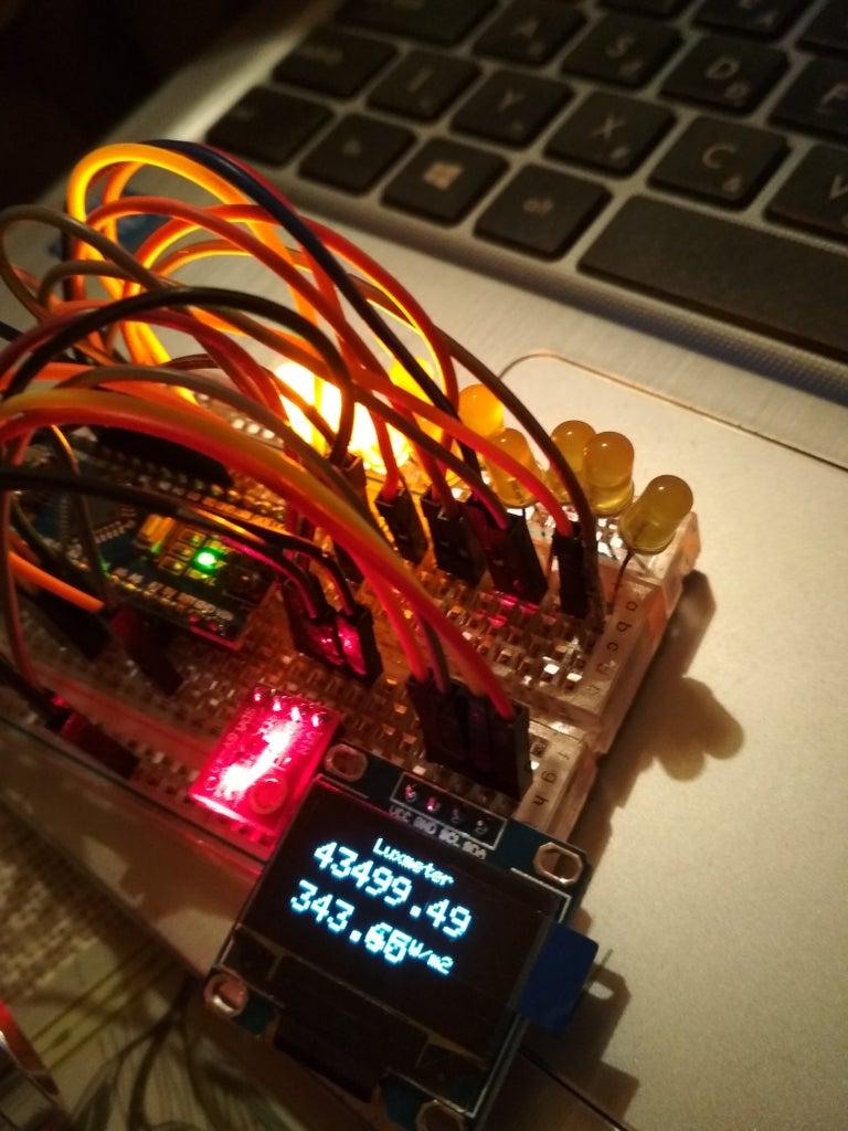 Lightmeter in Work