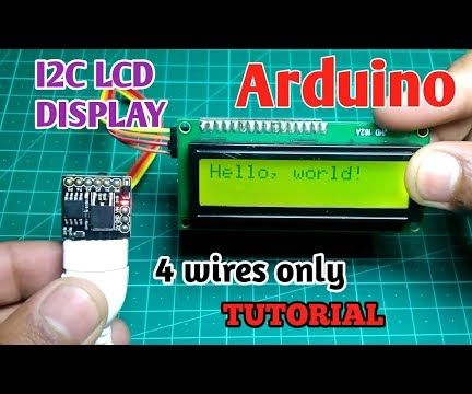 I2C / IIC LCD Display | Convert a SPI LCD to the I2C LCD Display