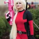 Lady Deadpool Bodysuit