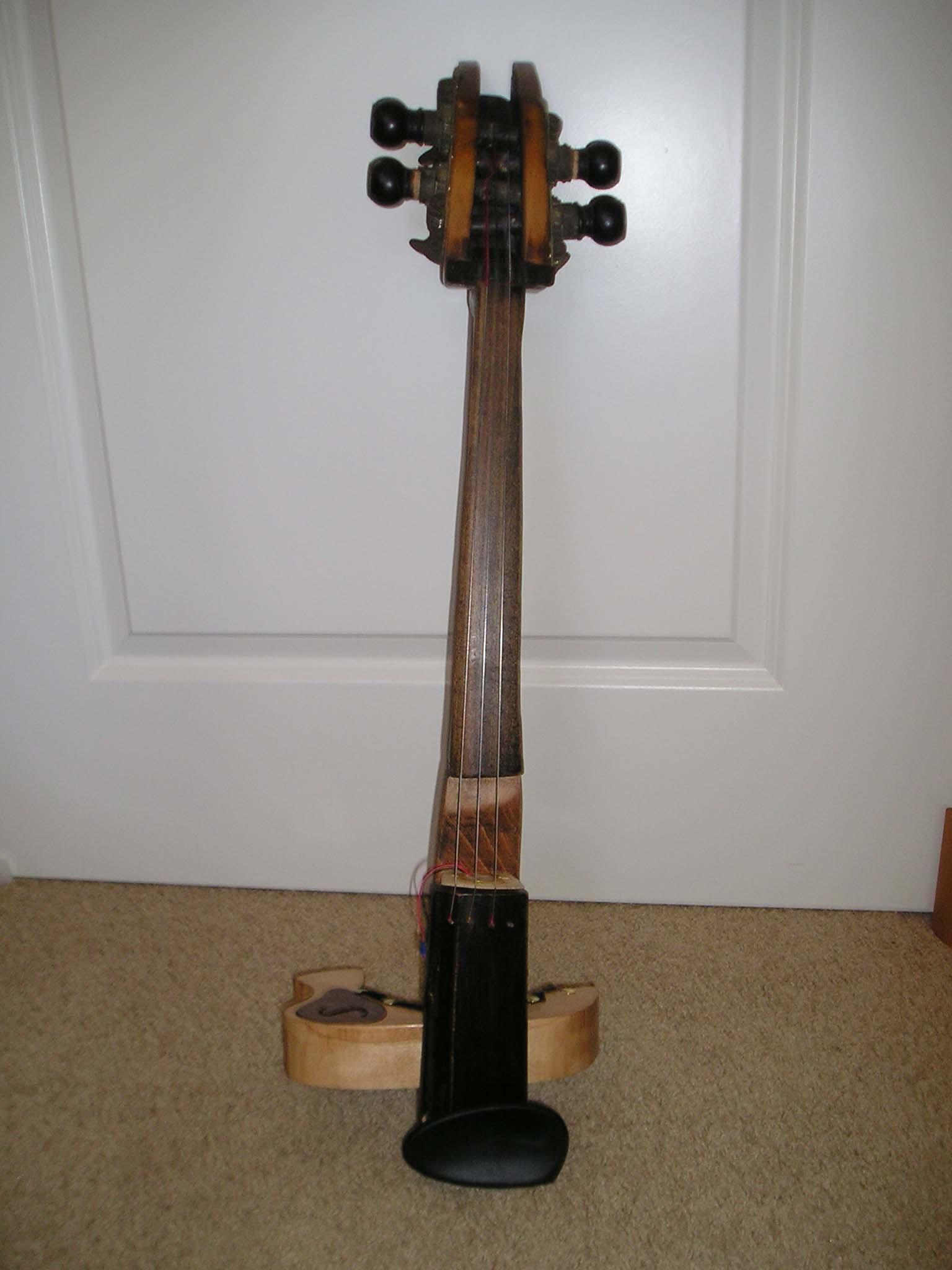 DIY Electric Viola