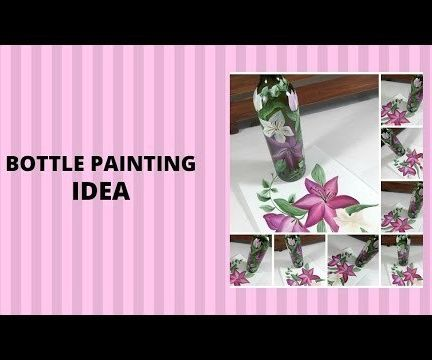 BOTTLE PAINTING IDEA