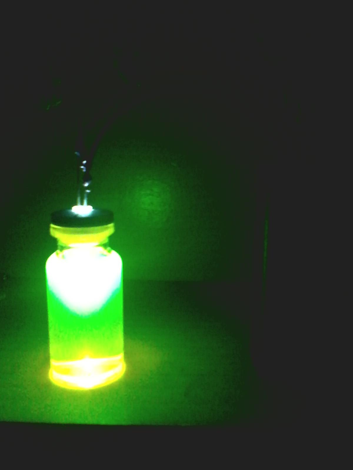 DIY Glowing Mini Jar