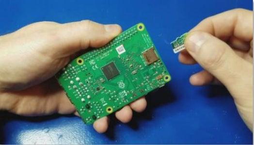 Burn RetroPie to the MicroSD Card