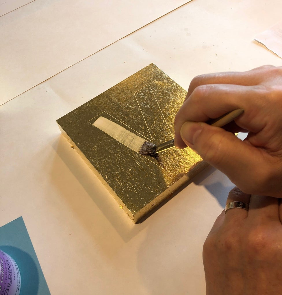 Stenciling for the Second Gild