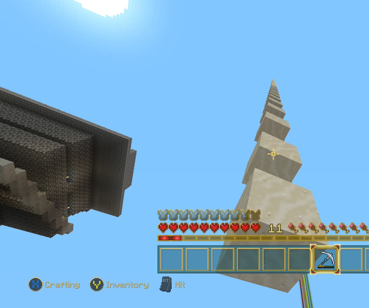 Minecraft: Temporary Tower