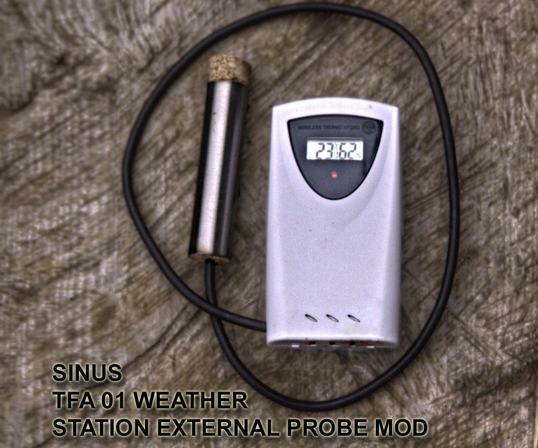 Weather station soil probe