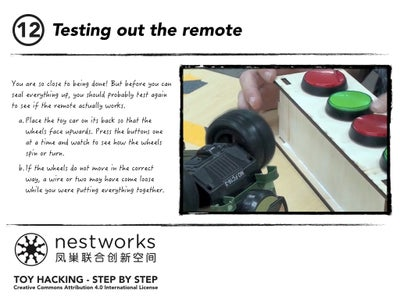 Testing Out the Remote