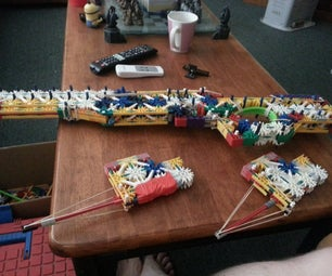 K'nex L96A1 Sniper Rifle + New Addition the Judge